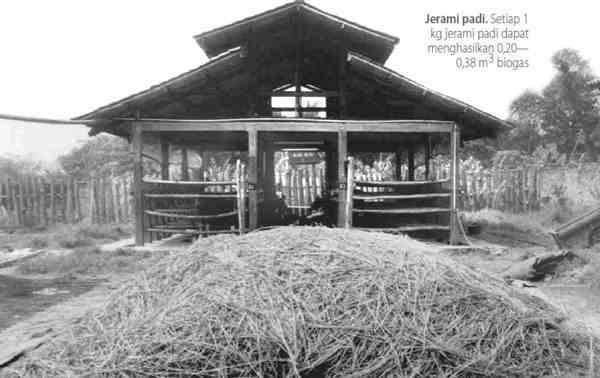 Biogas dari Jerami
