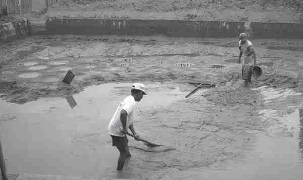 Perbaikan Pematang dan Saluran Air Agribisnis Patin