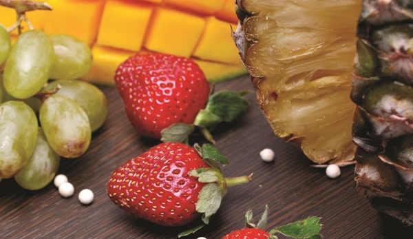 artikel warna warni buah