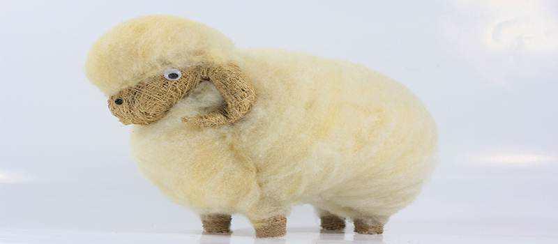 Kreasi Limbah Bulu Domba Tembus Pasar Dunia