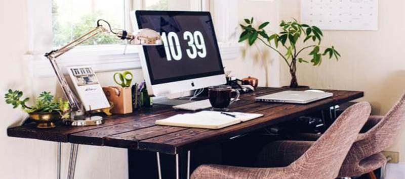 Tingkatkan Produktifitas Letakkan Tanaman Hias di Meja Kerja