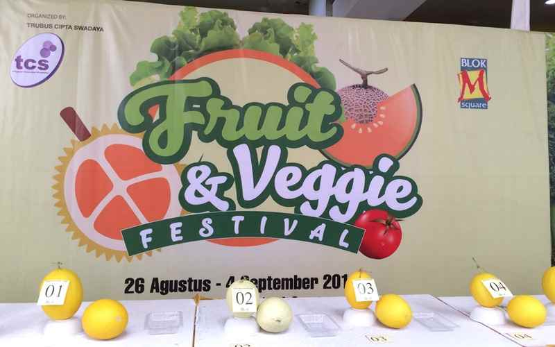 Kontes Melon Super di Fruit & Veggie Festival