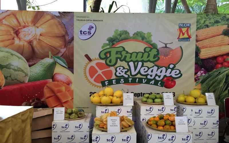 Fruit & Veggie Festival: Bursa Buah dan Sayur Paling Meriah