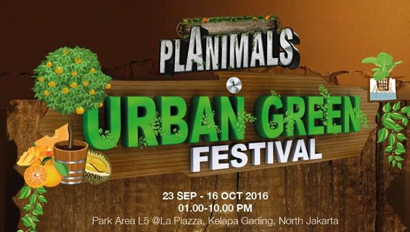 Datang dan Kunjungi Urban Green Festival
