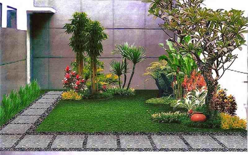 Trik Pintar Membuat Taman di Rumah Agar Terlihat Luas