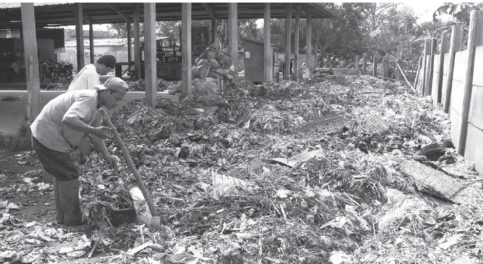 Bahan Baku Pembuatan Pupuk Kompos