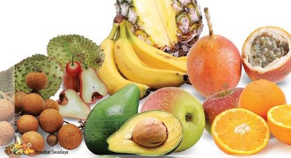 Penyebaran Buah-buahan di Indonesia