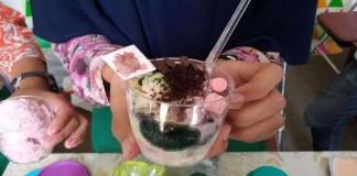 Mahasiswa UGM Membuat Es Krim Berbahan Sayuran