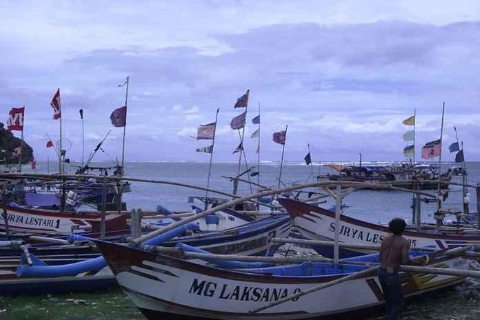 nelayan di Sukabumi tidak bisa melaut