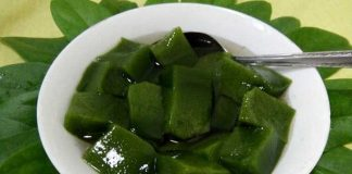 manfaat daun cincau hijau