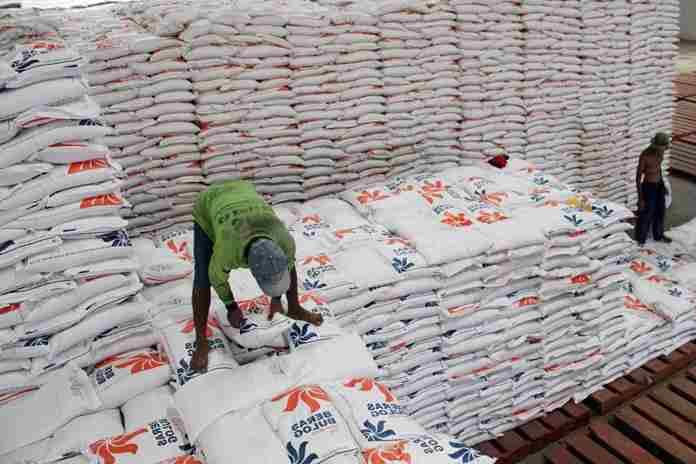 ratusan ribu beras impor
