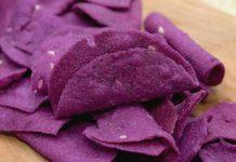 Keripik ubi ungu