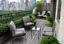 Bertanam di balkon aparteen