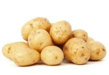 mengonsumsi kentang bersama kulit