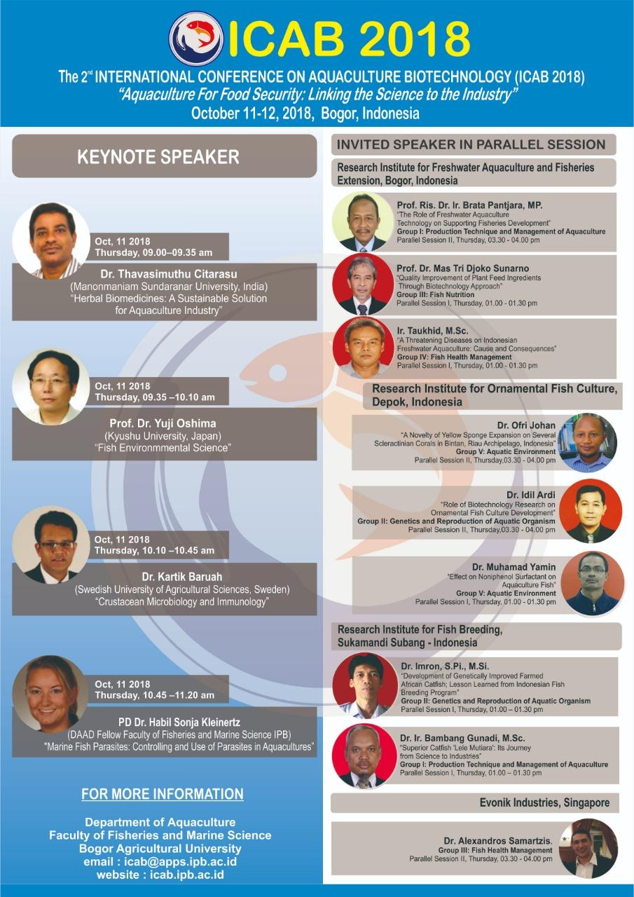International Conference Aquaculture Biotechnology