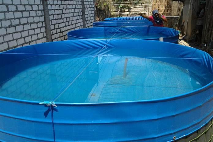 kolam bulat