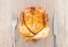 memasak daging ayam