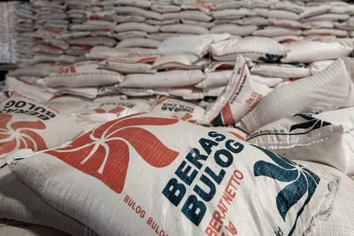 beras produksi petani