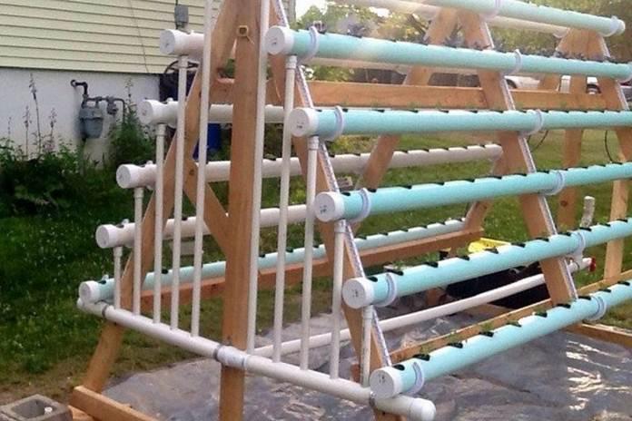 Cara Membuat Rak Hidroponik Di Rumah Pertanianku