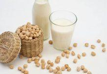susu kacang polong