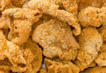 kulit ayam goreng