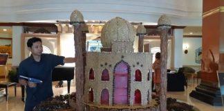 miniatur masjid dari bumbu dapur