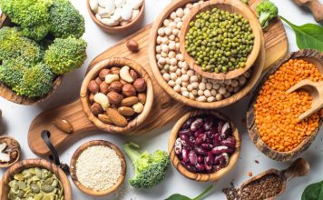 tambahkan protein ke diet vegetarian