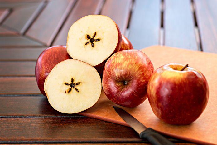 manfaat biji apel