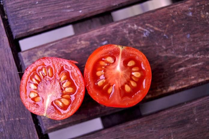 biji tomat