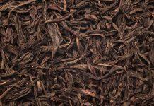 daun teh kering