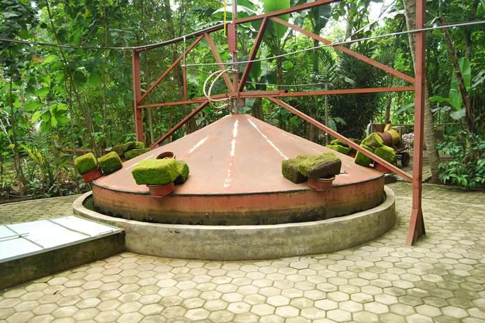 pengolahan biogas