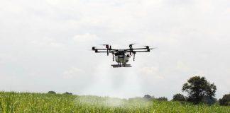 drone penebar benih