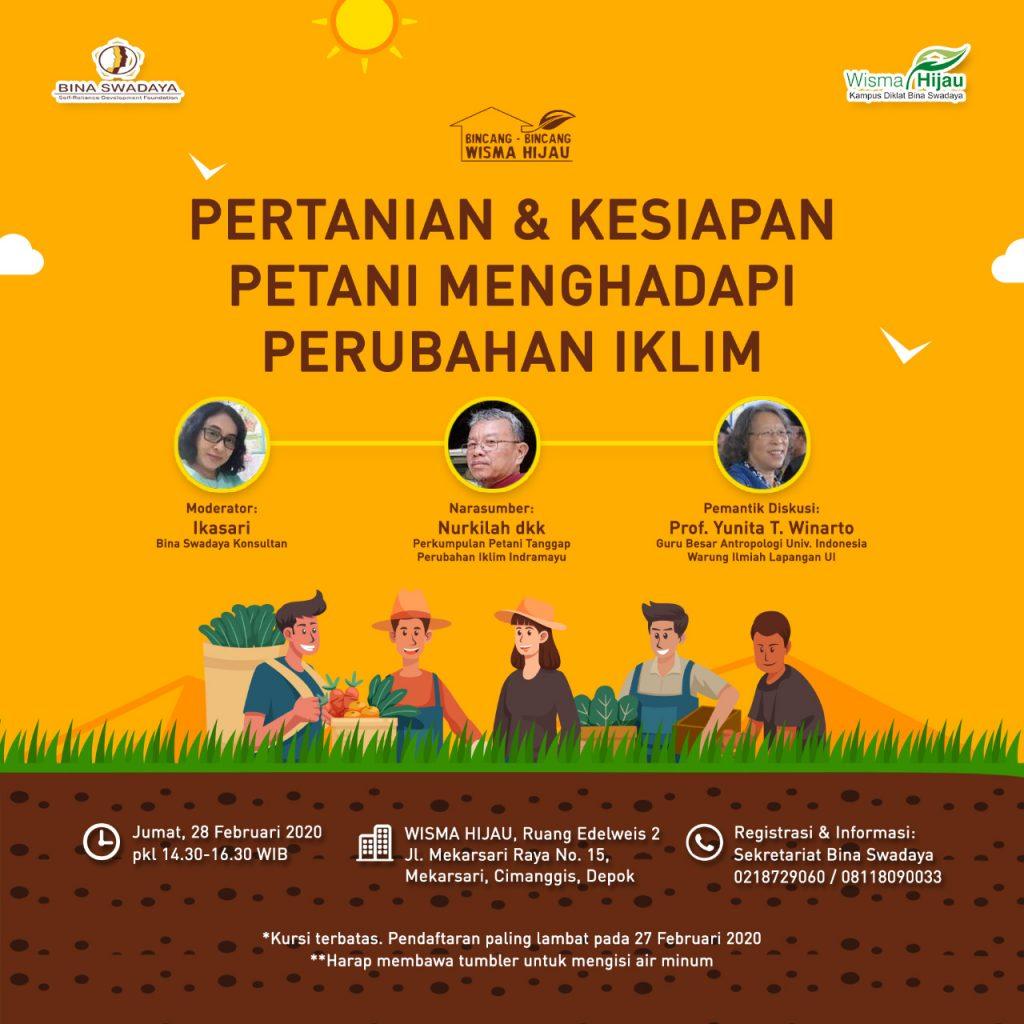 Pertanian dan Kesiapan Petani Menghadapi Perubahan Iklim 1024x1024 - Kesiapan Petani dan Sektor pertanian dalam Menghadapi Perubahan Iklim