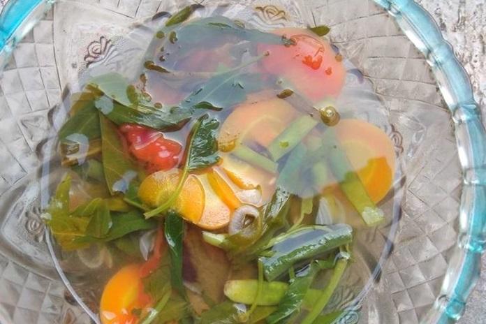 sayur asam kangkung