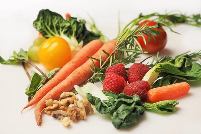 warna sayur dan buah